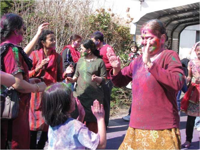 Hindus Celebrate Holi
