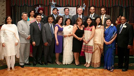 GOPIO CT Honors Dinesh Paliwal And Sen. Chris Dodd