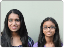 Rani Iyer And Isha Laad Win 3rd Prize <br> 2010 Siemens We Can Change The World Challenge!