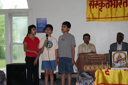 Residential Sanskrit Family Camps