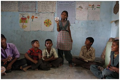 Local Givings - Prashant Fadia And American India Foundation<br>A LAMP Program Lights A Child's Life
