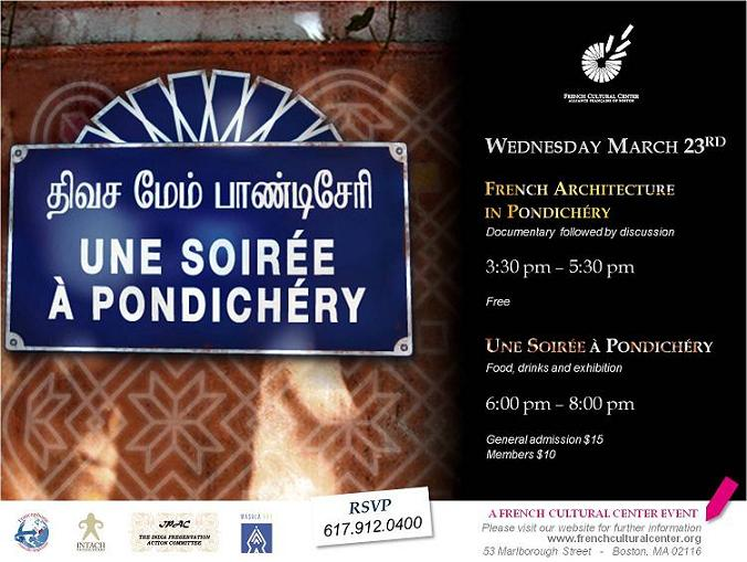 French India Event Features Pondicherry And Franco - Tamil Architecture