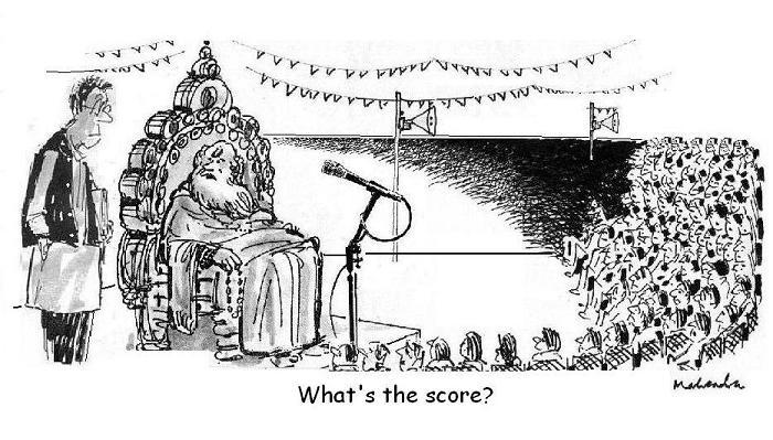 Cartoon: What's The Score?