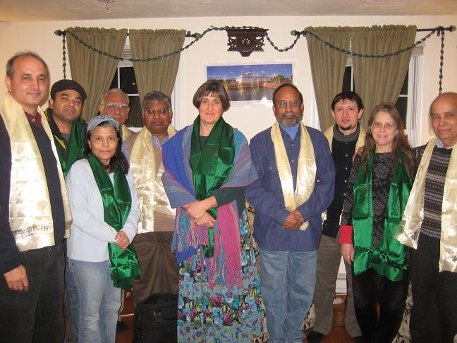 South Asia Poets' Afternoon At A Nepali Home In New England