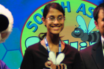 Sukanya Roy Wins Scripps National Trophy