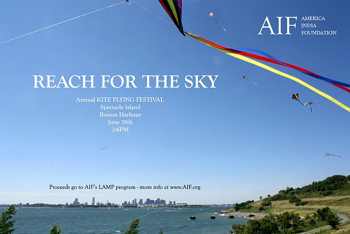 Prashant Fadia Foundation And The American India Foundation: Kite Flying Event