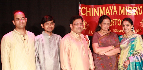 Triple Play Concerts At Chinmaya Mission