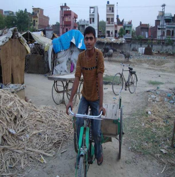 Local Givings - Prashant Fadia Foundation And American India Foundation: AIF  Rickshaw Sangh Impacts