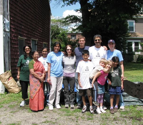 Indian Humanitarian Provides Inspiration To New England Volunteers