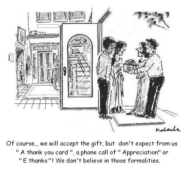 Cartoon: Will Accept The Gift!