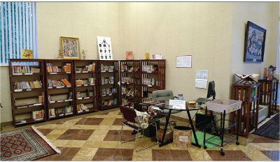 Library At Chinmaya Maruti - A Precious Resource