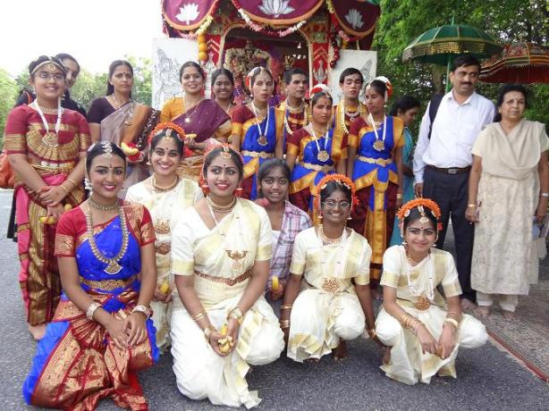 Ani Thirumanjanam Celebrations At The Sri Lakshmi Temple