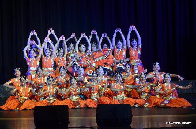 Navavidha Bhakti  -  A Scintilating Syncronicity Of Devotion And Dance