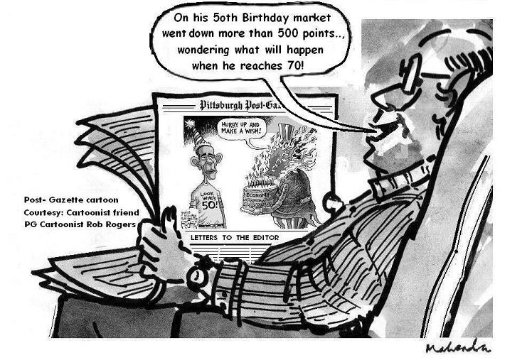 Cartoon: Obama's 50th Birthday