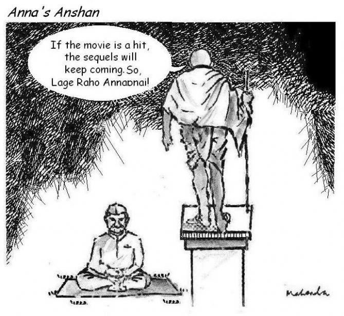 Cartoon: Anna's Anshan