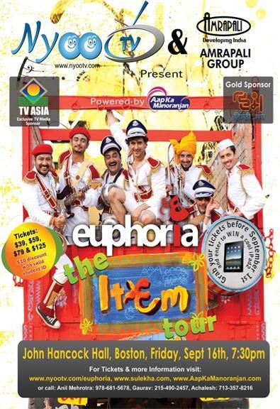 Euphoria - The ITEM Tour Concert