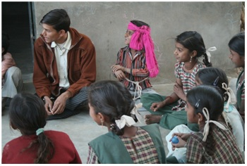 Local Givings: Prashant Fadia Foundation And American India  Foundation:  DE Program Allows  Glency  Sheeba To Dream