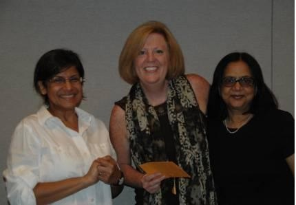 Teach India Project Presents The Global Education Professional Development Award To Tara Olshaw