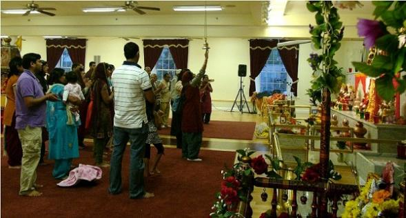Navratri Celebrated With Akhand Japa At Satsang Center