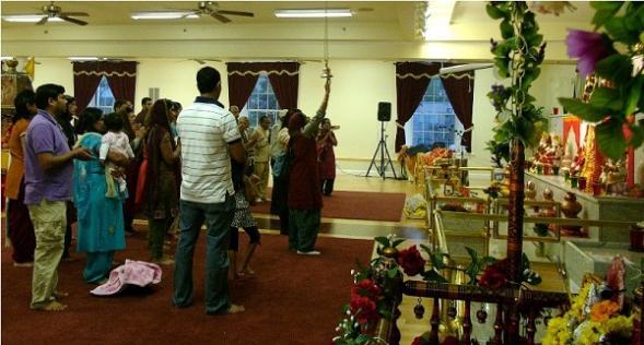 Navratri Celebrated With Akhand Japa At Satsang Center