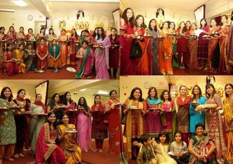 Spirited Celebration Of Karwa Chauth