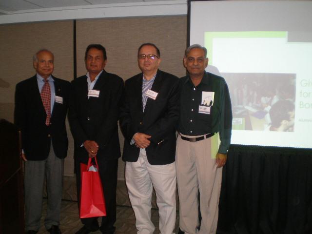 IIT Bombay Boston Chapter Hosts Faculty Alumni Network 2011
