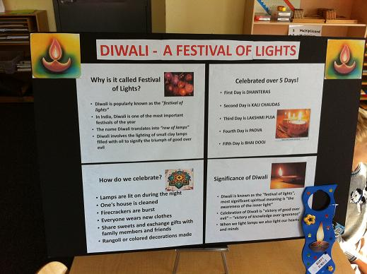 Apple Valley Montessori School Celebrates Diwali