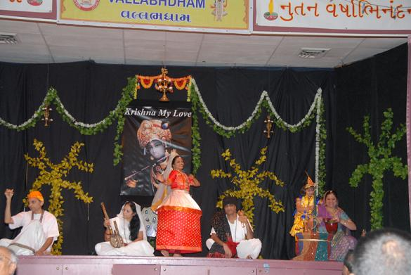 Grand Diwali Celebrations And Annakut Mahotsav At Vallabhdham Temple, CT