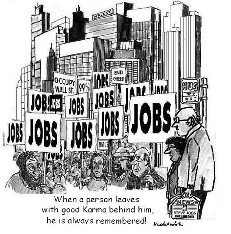 Cartoon: Good Karma
