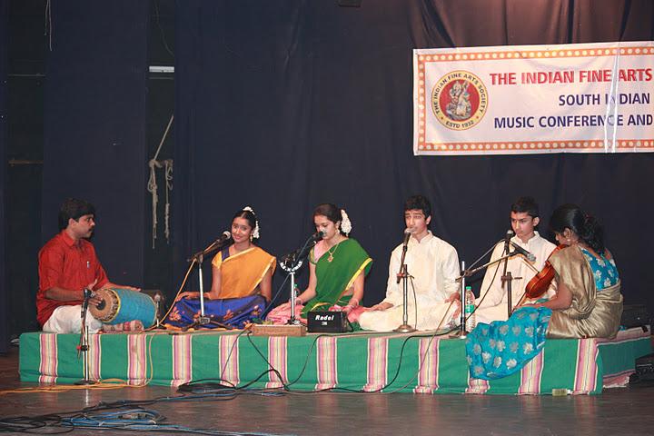 Students Of Aparna Balaji At The Chennai Music Season