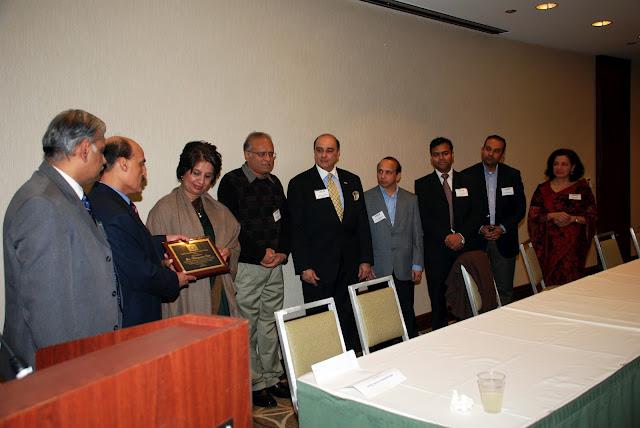 Ambassador Nirupama Rao Meets Boston Cummunity