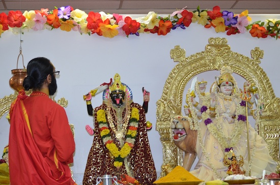 Sree Vijaya Durga Temple Celebrates First Anniversary