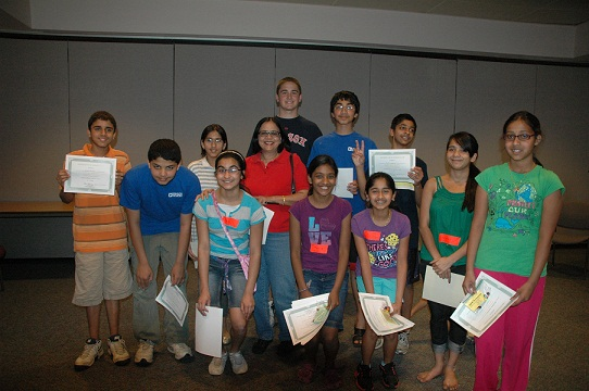 Student Volunteers Step Up For Teach India Project's Earth Day Celebration