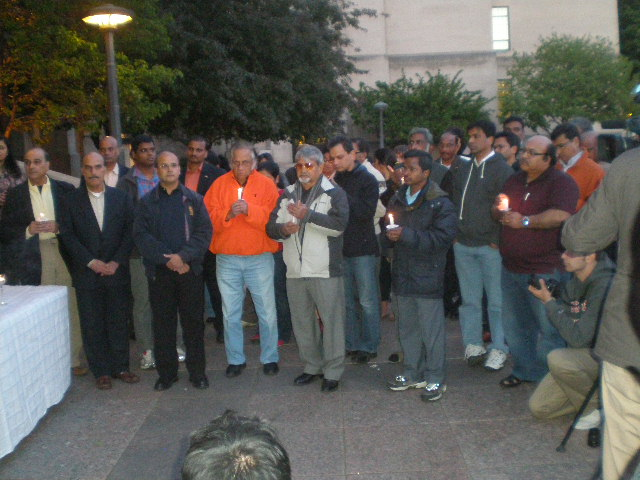 Candlelight Vigil At Boston University