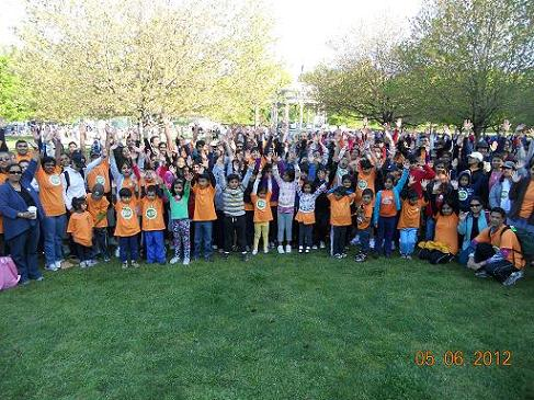 Chinmaya Walkers Raise A Record-Breaking $31,712<br> To Feed The Hungry In Massachusetts!