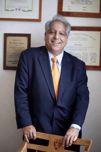 Dr. Sanjiv Chopra Awarded Medal For Community Service