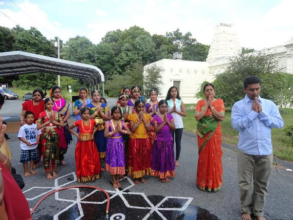 New England Dancers Celebrate Ani Thirumanjanam At The Sri Lakshmi Temple In Ashland, MA