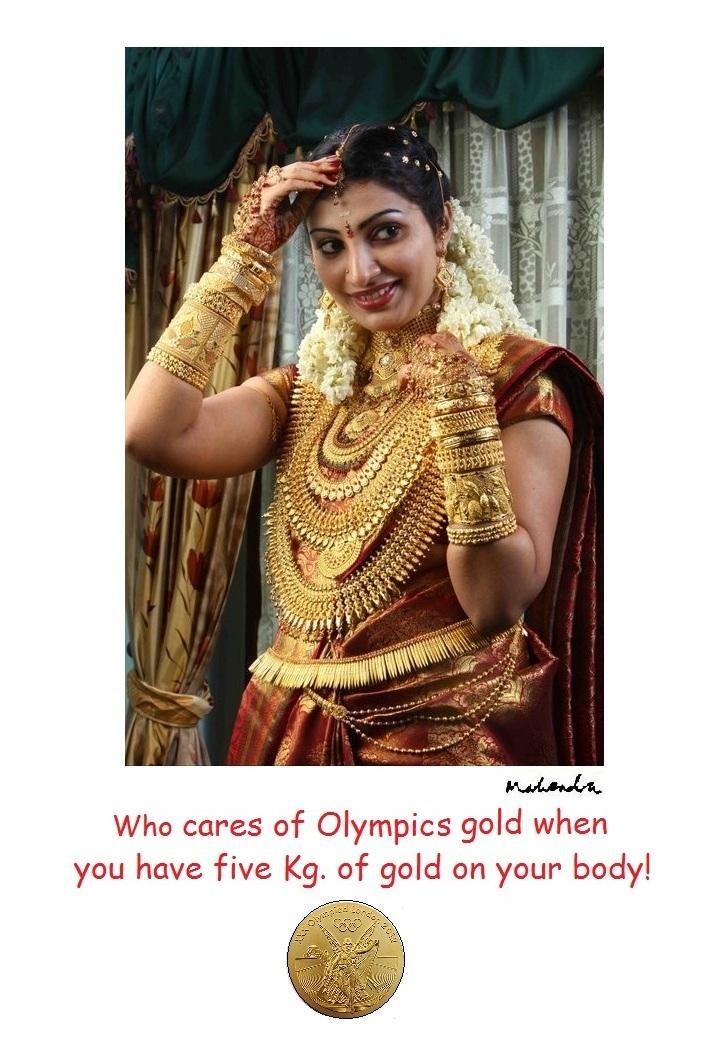 Cartoon: Olympic Gold