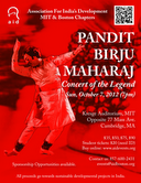 AID Presents The Legendary  Birju Maharaj