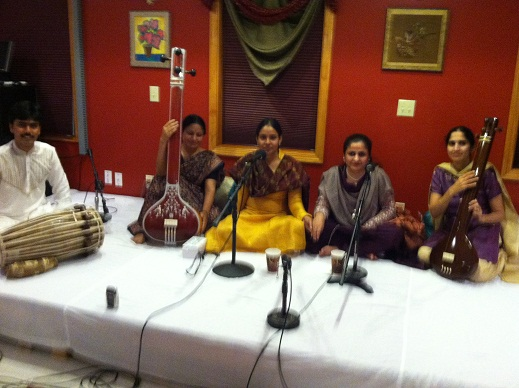Reposeful Dhrupad By Indo-Pak Sisters Amita And Aliya