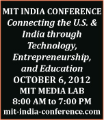 MIT India Conference 2012