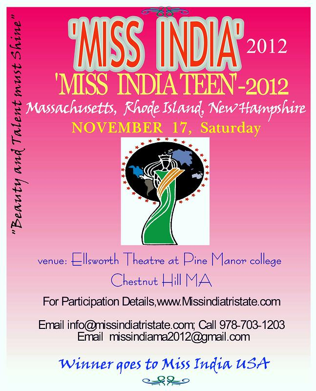 'Miss India' And 'Miss India Teen'-2012