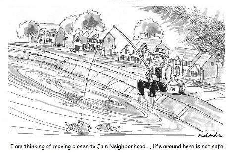Cartoon: Jain Neighborhood