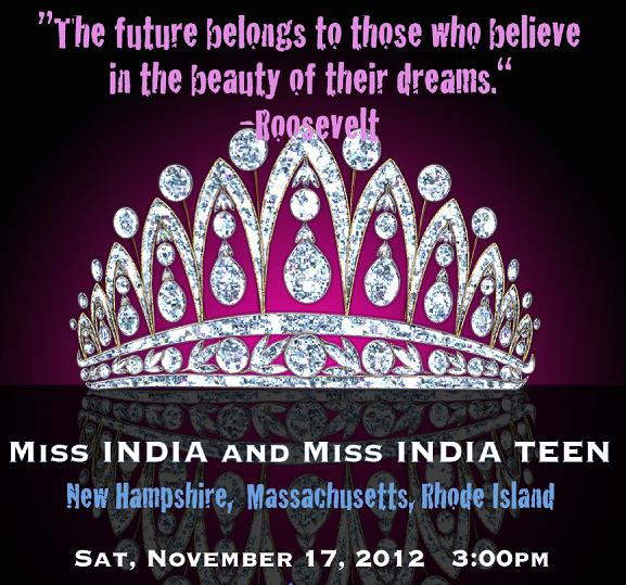 Miss India And Miss India Teen - 2012