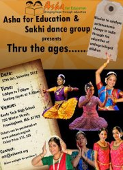 Asha For Education And Sakhi Dance Group Presents 'Through The Ages'