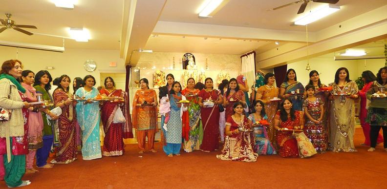 Satsang Center Celebrates Zesty Houseful Karwa Chauth