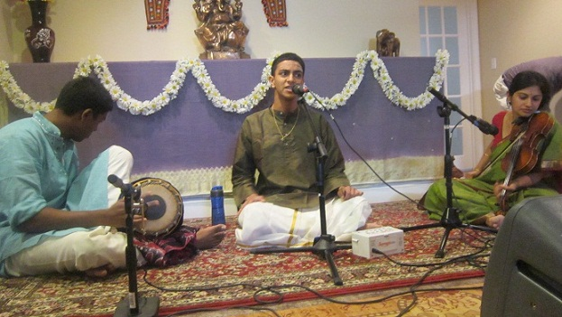A Delightful Carnatic Music Concert By Nishant Raj