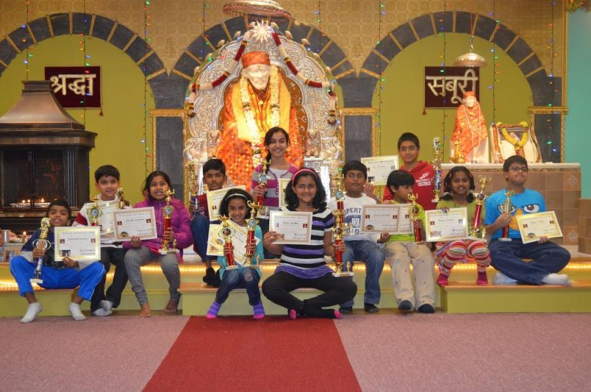 New England Shirdi Sai Parivaar (NESSP) Conducts Its 1st Ever Annual Kids Academic Competition