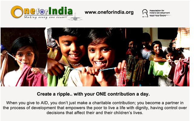 One For India: Making EveryONE Count!