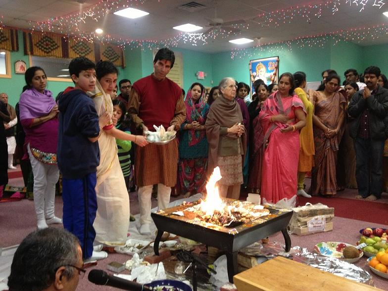 New Year And Makara Sankrati Celebrations At New England Shirdi Sai Temple